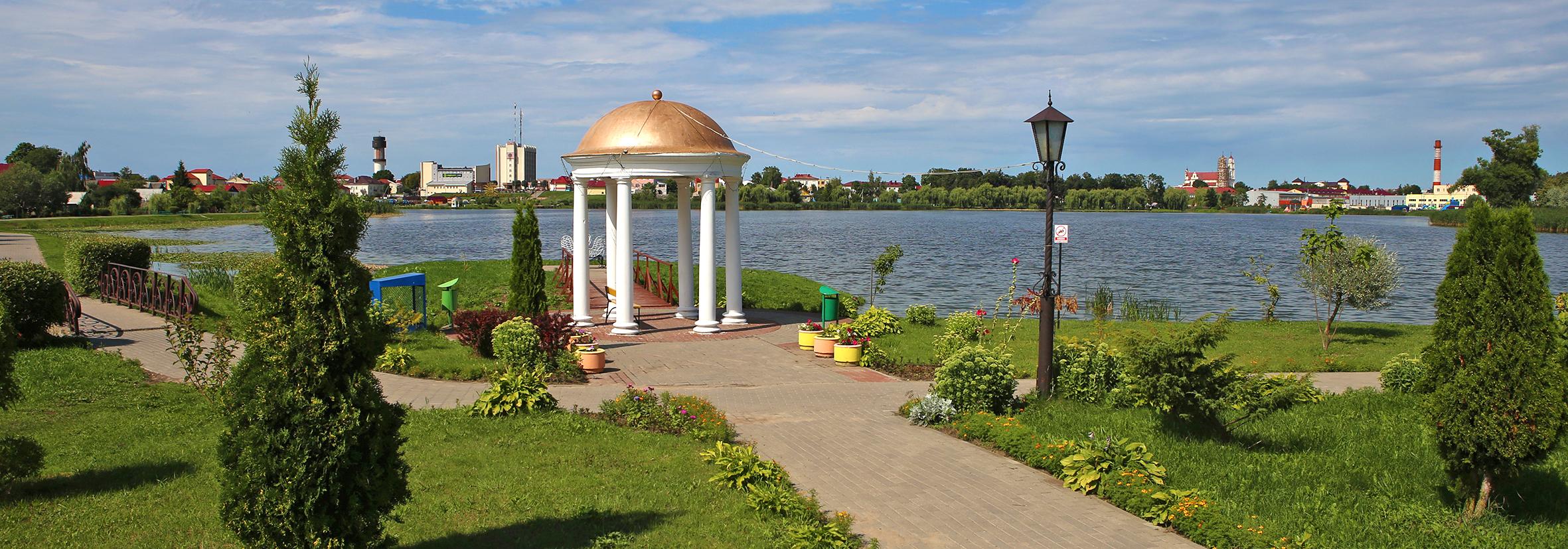 Набярэжная возера Кагальнае