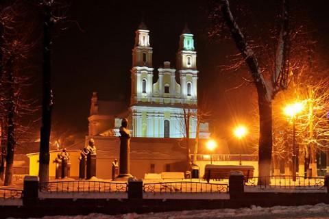 Сквер ночью